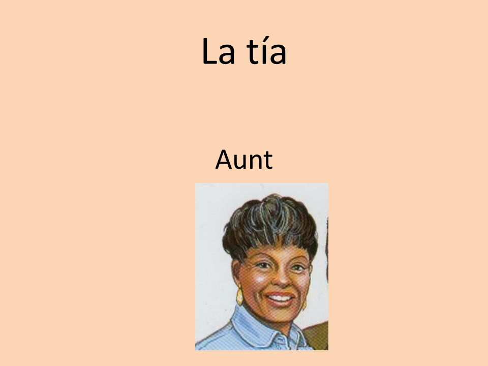 La tía Aunt