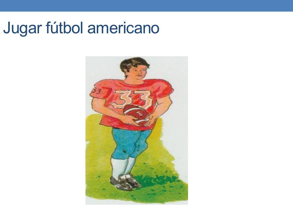 Jugar fútbol