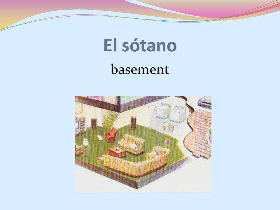 El sótano basement