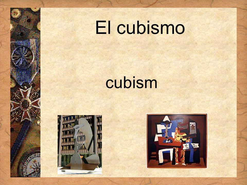 Español 3 Tema para investigar Capítulo 3 Páginas 102-103 El cubismo cubism