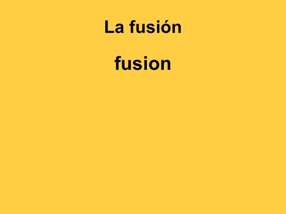 La fusión fusion