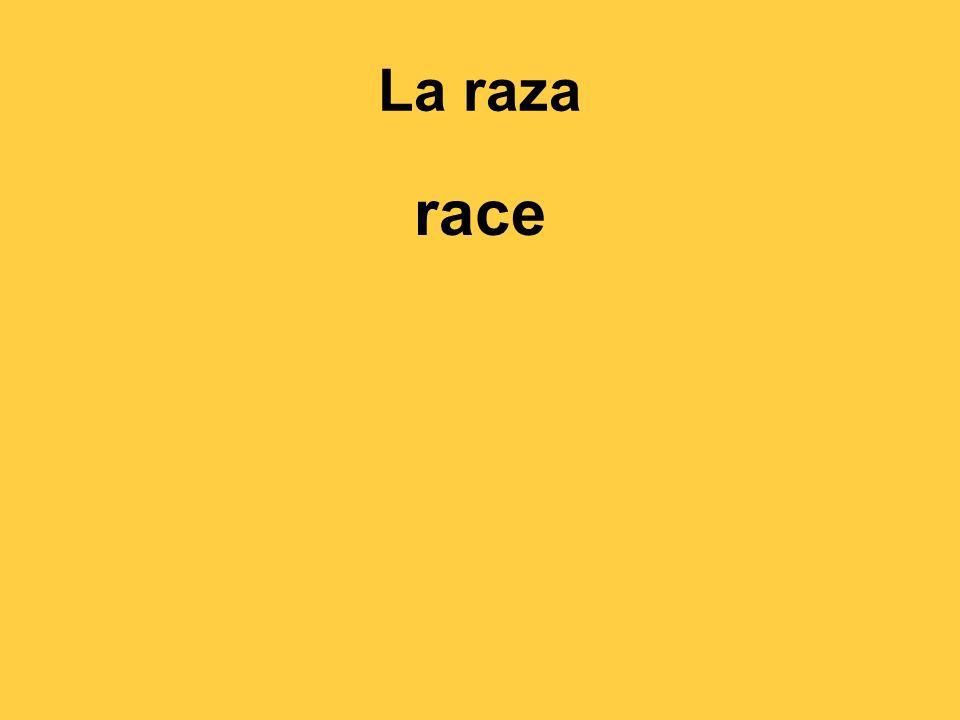 La raza race