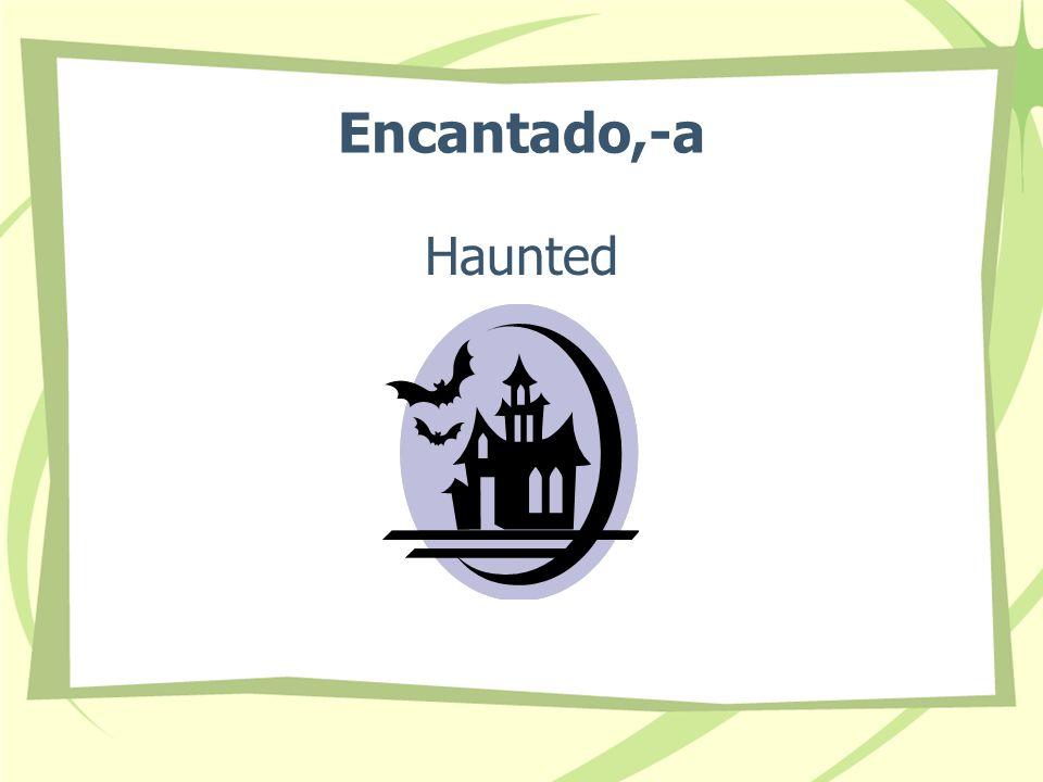 Encantado,-a Haunted