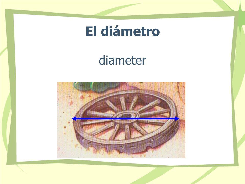 El diámetro diameter