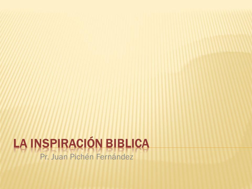 Sostiene que Dios habla mediante las Escrituras y las utiliza como un medio para comunicarse con nosotros.
