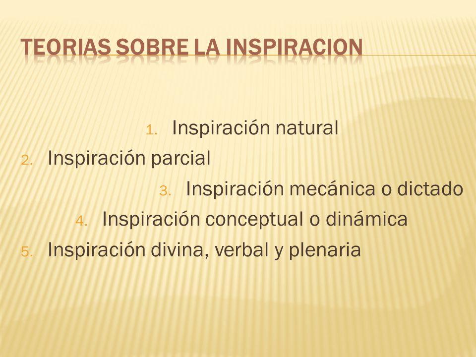 Por inspiración verbal se quiere significar que el Espíritu de Dios fue quien guió la elección de las palabras usadas en los escritos originales.