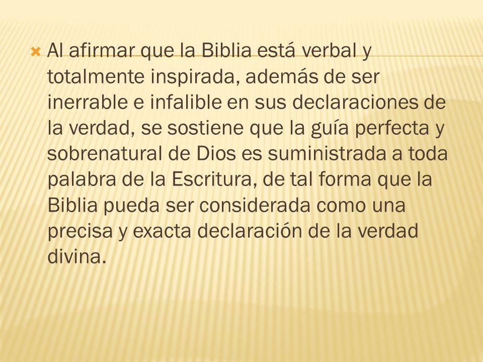Algunos han sostenido que Dios realmente dictó la Escritura y que los escritores de la Biblia actuaron sólo como taquígrafos.