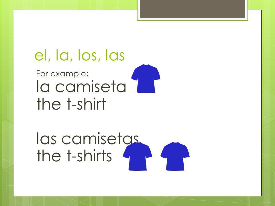 el, la, los, las? ____ sombrero ____ chicas ____ amiga
