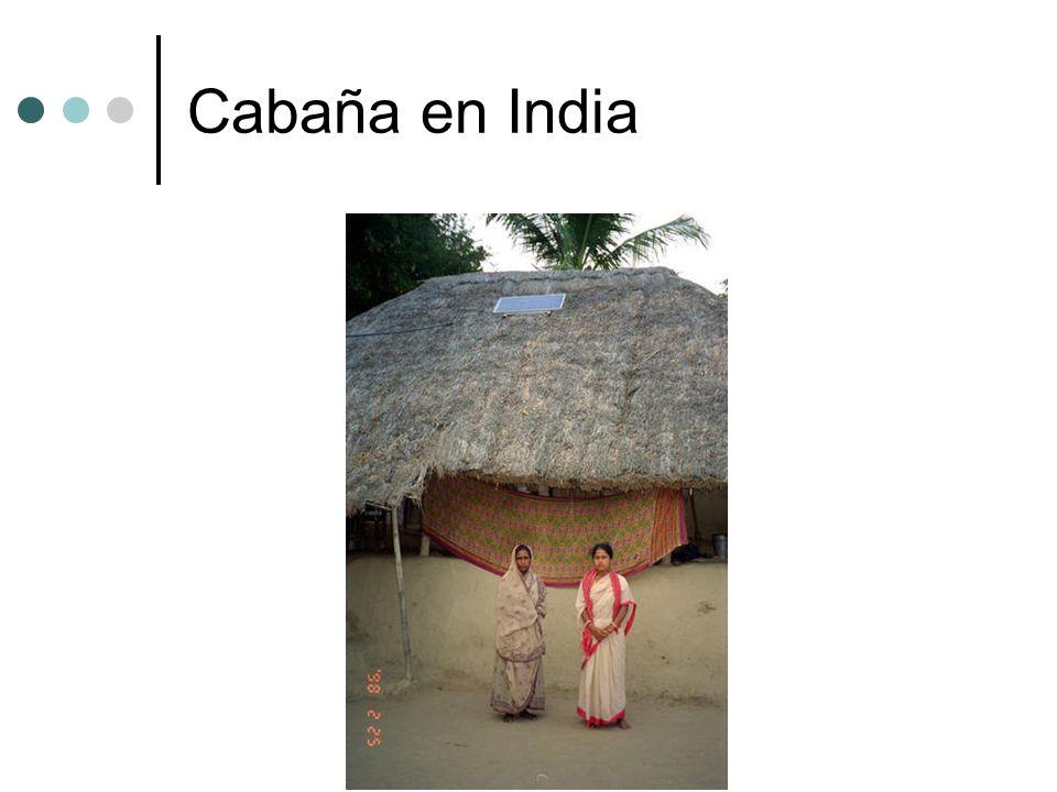 Cabaña en India
