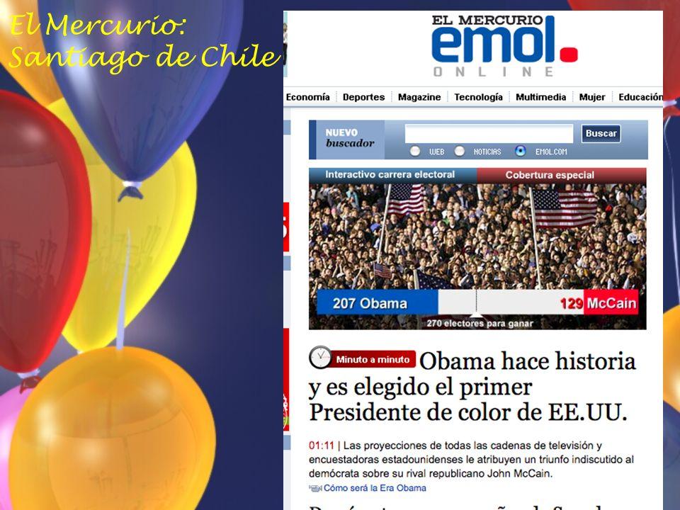 El Mercurio: Santiago de Chile