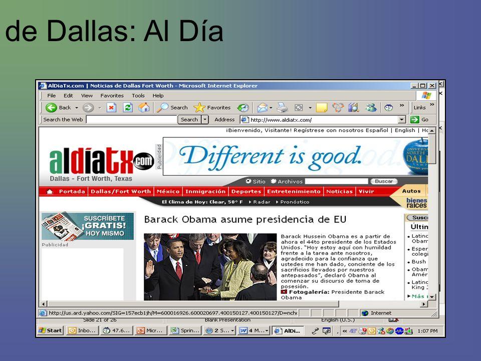 de Dallas: Al Día