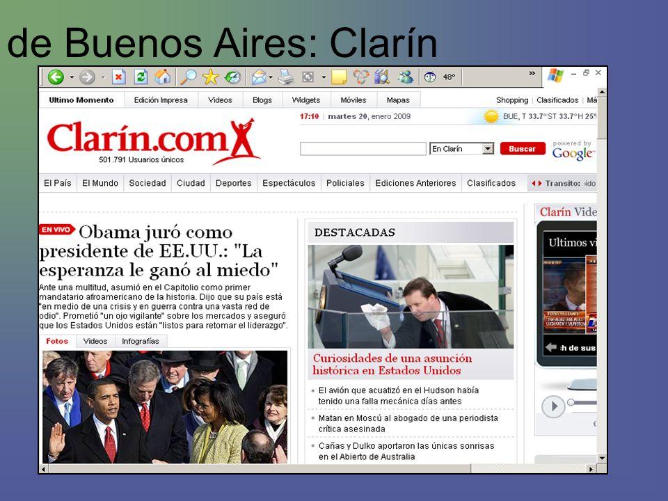 de Buenos Aires: Clarín