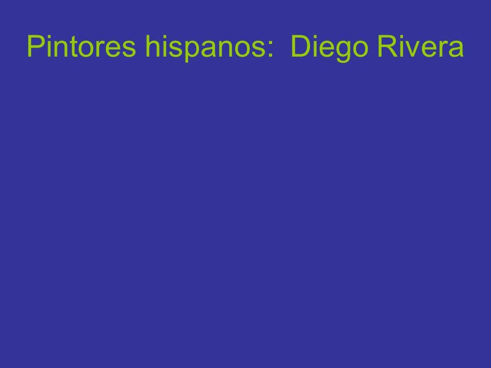 Pintores hispanos: Diego Rivera