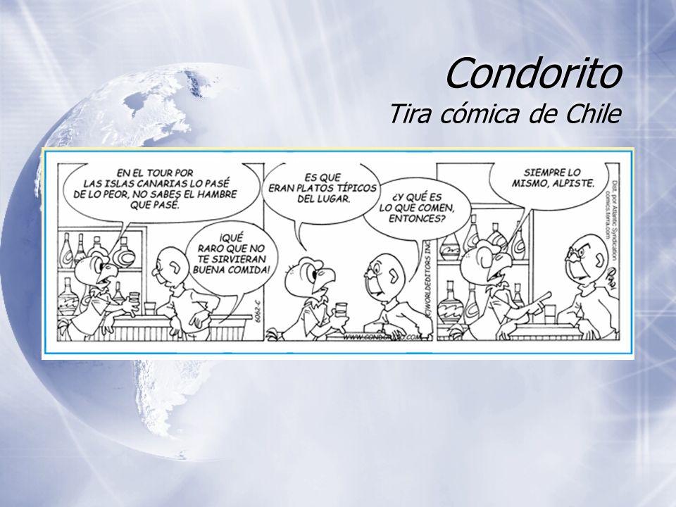 Condorito Tira cómica de Chile