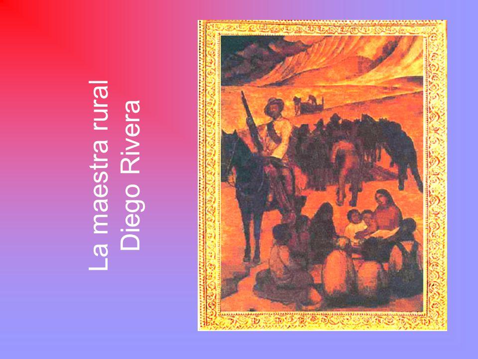 La maestra rural Diego Rivera