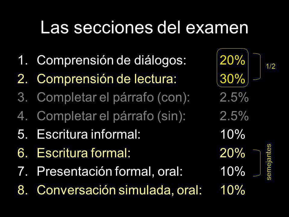La calificación Se califica del 1 al 5.Las calificaciones 3-4-5 son aprobatorias.
