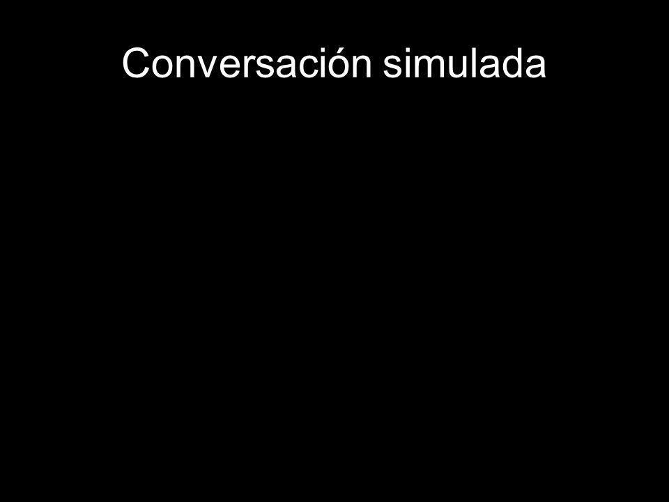Conversación simulada Tu amig@ perdió su teléfono: –Lo siento mucho. –¿Perdiste el celular? Lo siento mucho. –¿Perdiste el celular, dijiste? Ay, lo si