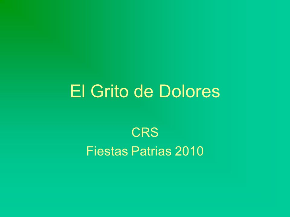 El Grito :: 2010 Fue en la iglesia de Dolores Hidalgo.