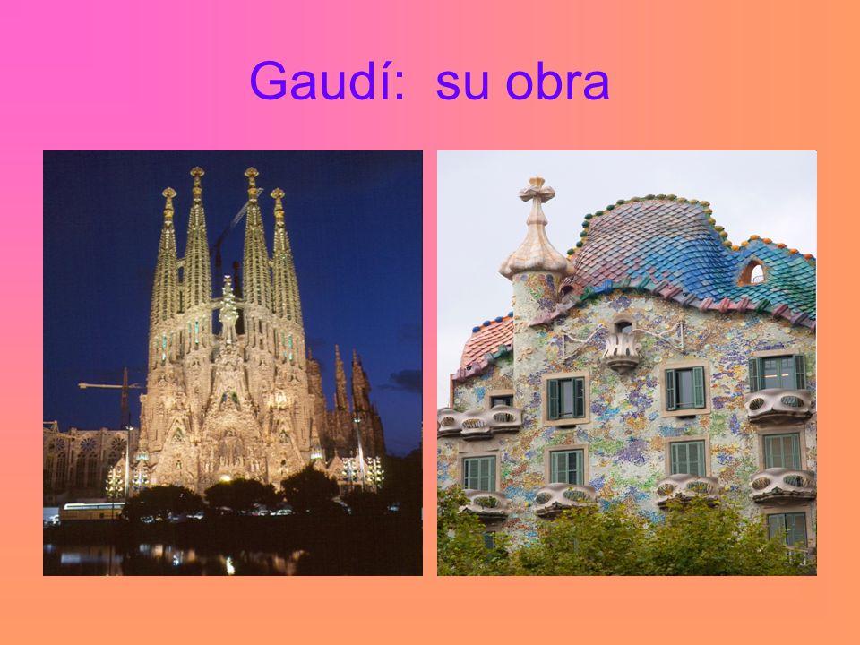 Gaudí: su obra