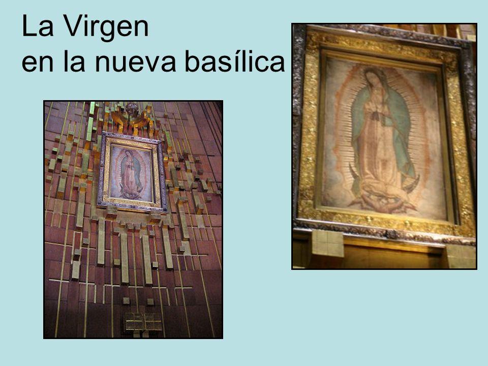 La Virgen en la nueva basílica