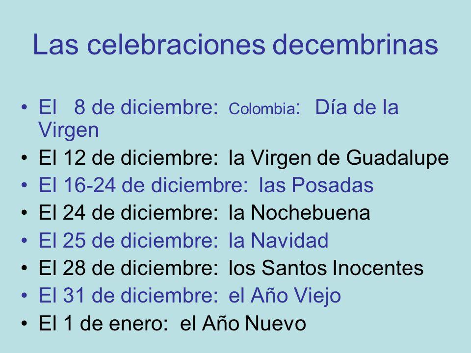 La Virgen de Guadalupe Vocabulario: Tenochtitlán Juan Diego Tepeyac tilma Zumárraga beatificar canonizar