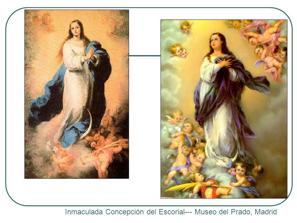 Inmaculada Concepción del Escorial--- Museo del Prado, Madrid