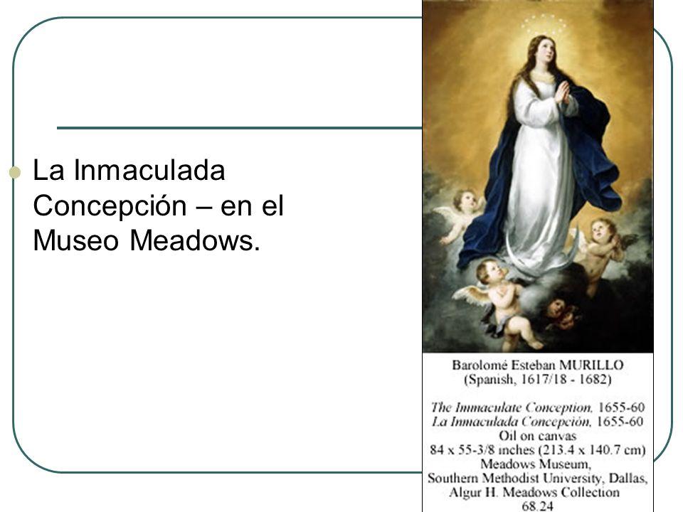 La Inmaculada Concepción – en el Museo Meadows.