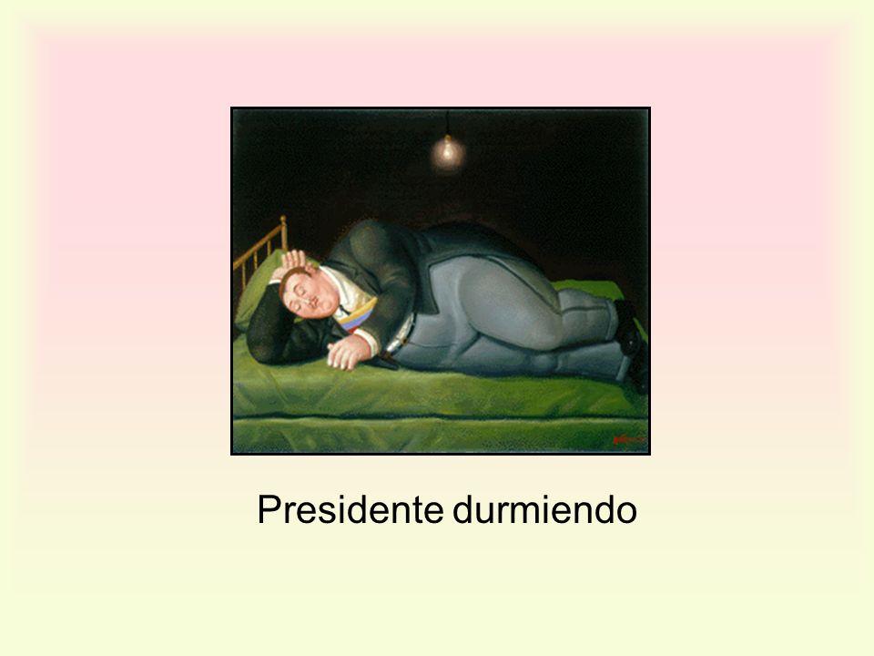 Presidente durmiendo