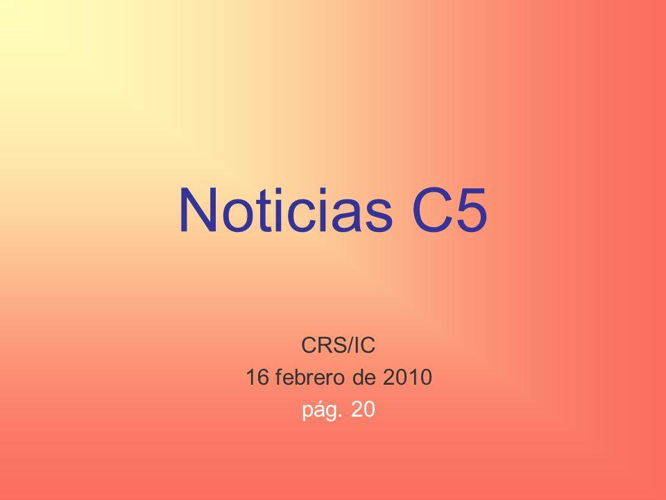 Noticias C4 Noticias escolares: –Ciencia –Inscribirse para el AP: mañana ($8 / $56) Noticias deportivas Noticias internacionales Los muralistas mexicanos: David Alfaro Siqueiros AP