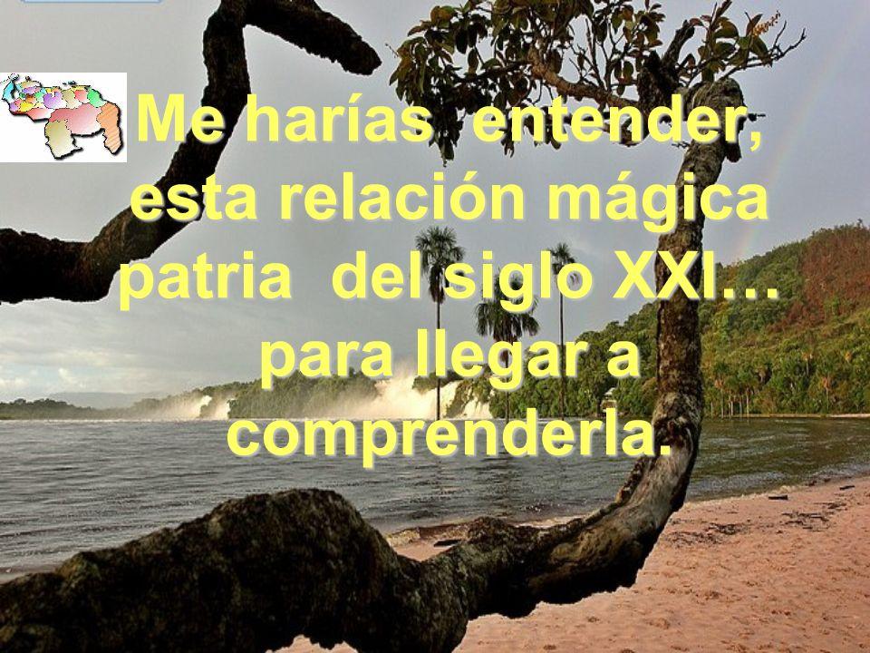 LAGUNA DE CANAIMA Venezuela amada y amante, me enseñastes lo que tenías que enseñarme, y me curates lo que tenía que curarme. LAGUNA DE CANAIMA
