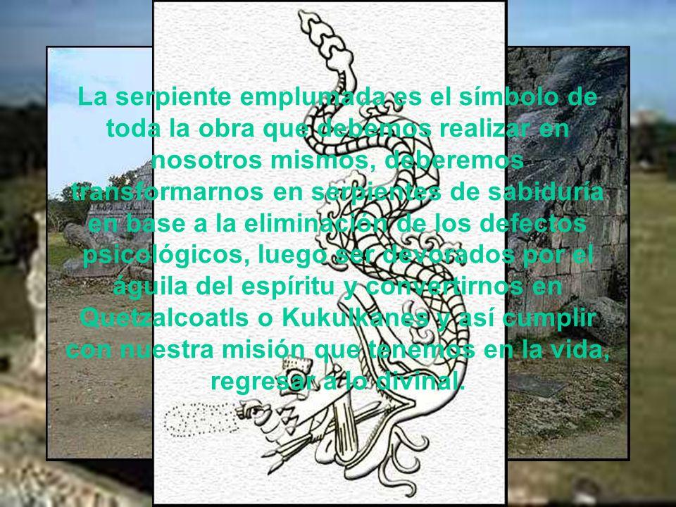 En la Teogonía maya, el ave y la serpiente figuran como creadores sexuales del Universo, Tepeu y Gucumatz. Dos dioses que intervienen en la creación,