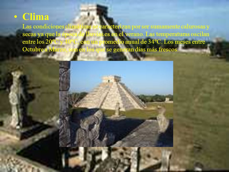 El Templo de los Guerreros Es una impresionante construcción que está integrada al Grupo de las Mil Columnas. Se edificó sobre un Templo más antiguo d