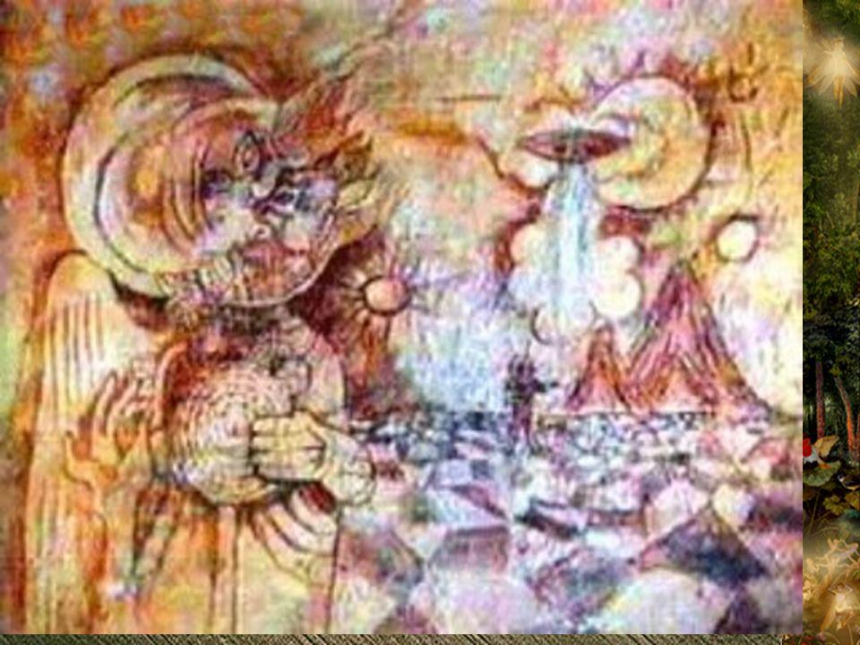 Algunos investigadores encontraron una gran similitud de la figura aparecida en Winchester, con una pintura rupestre localizada en la región de Fergana en Uzbekistan.