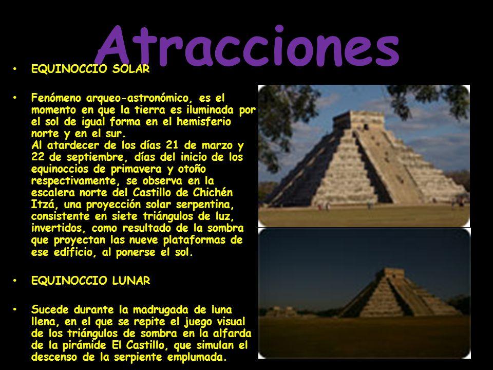 En su momento de esplendor, fue la ciudad más poderosa de la península de Yucatán. En su momento de esplendor, fue la ciudad más poderosa de la peníns