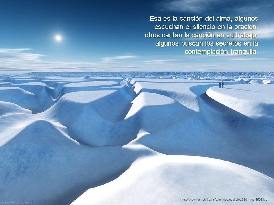 Recuerda, los silencios mantienen los secretos, por tanto, el sonido más dulce es el sonido del silencio. http://www.tom-phillips.info/images/cool.pic