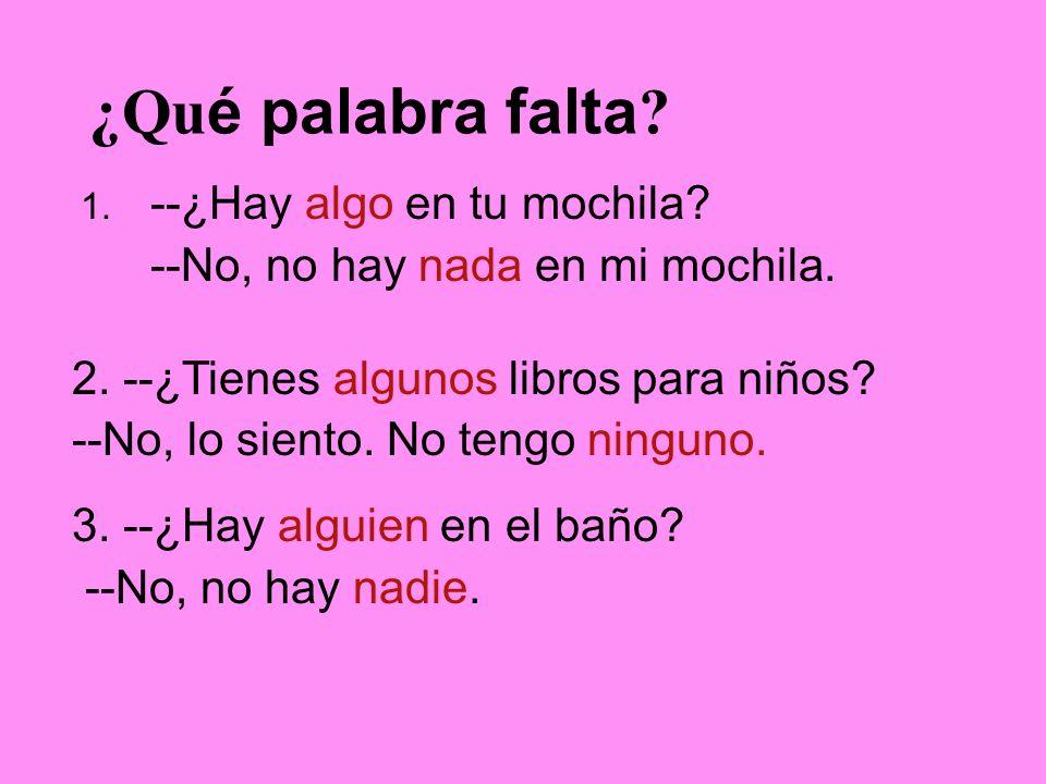 Practicamos.Escribe en español… My little brother bugs me.
