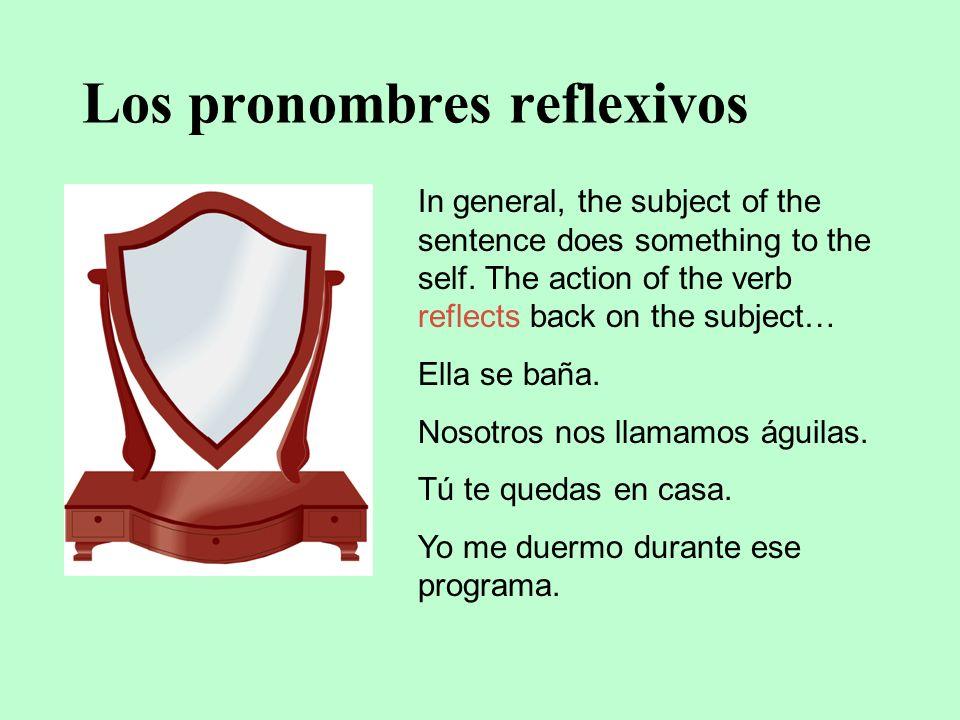 Los pronombres de los complementos indirectos menos teos leles