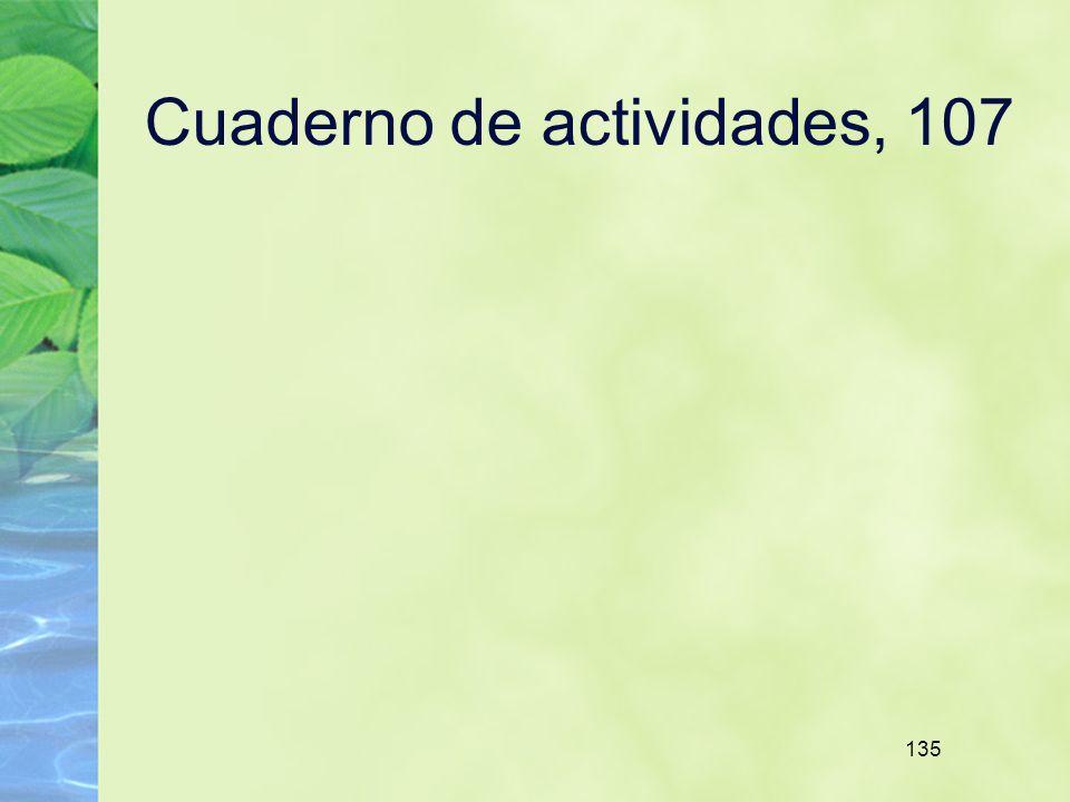 135 Cuaderno de actividades, 107