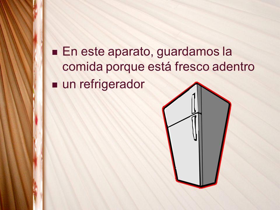 un refrigerador
