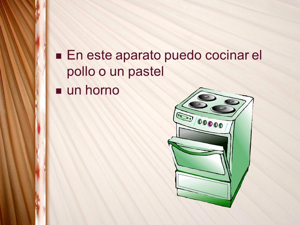 un horno