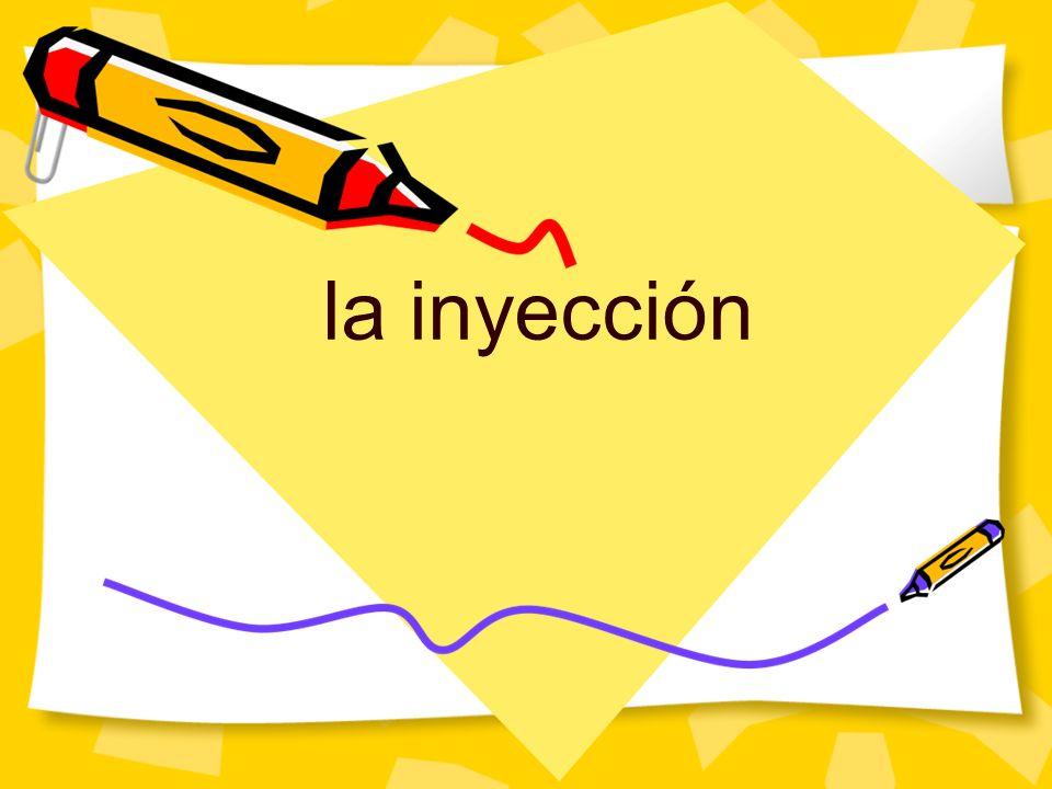 la inyección