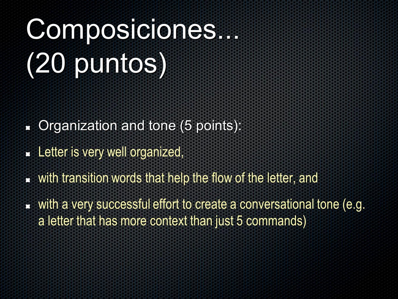 Composiciones...