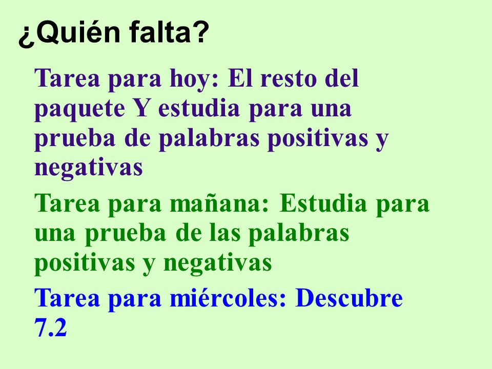 Las composiciones breves… Números… – 18 = dieciocho – 21 = veintiuno – 35 = treinta y cinco Telling time / telling at what time something happens – Son las 6:45.