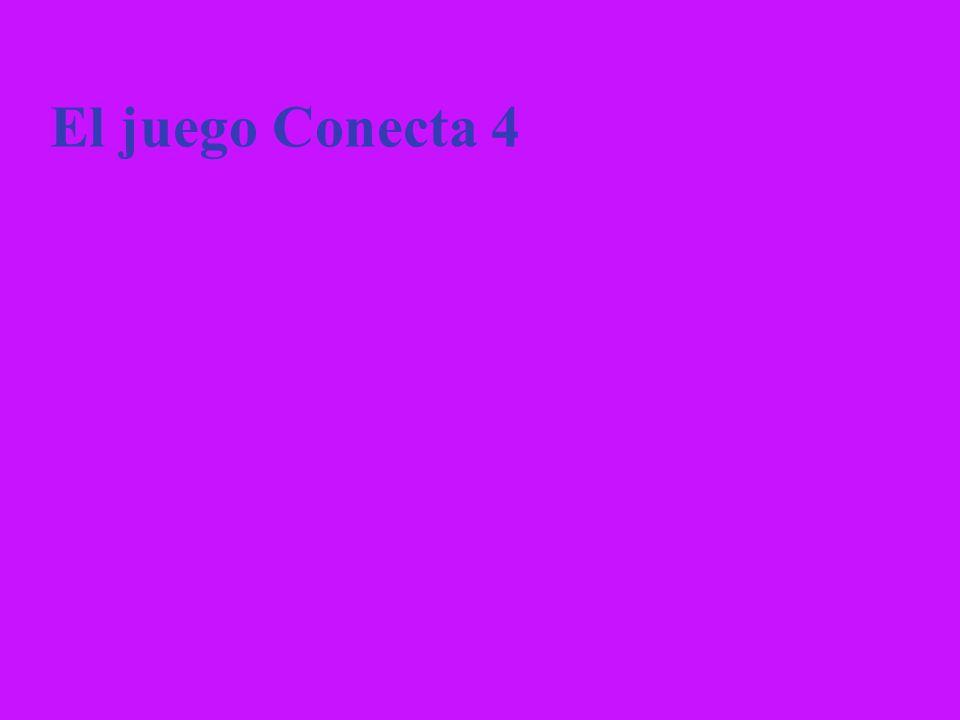 El juego Conecta 4