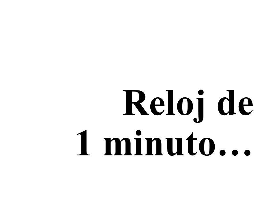 Reloj de 1 minuto…