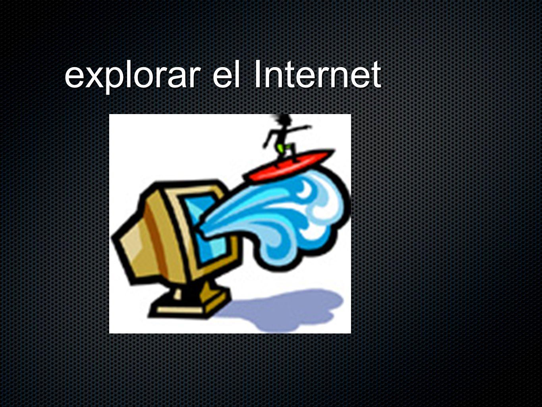explorar el Internet