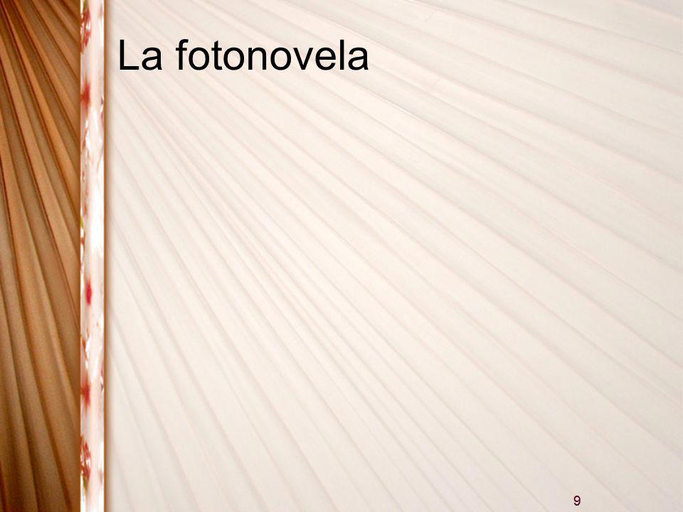 9 La fotonovela 9