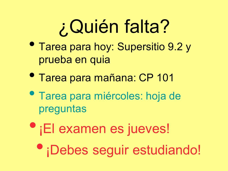 Usando el pretérito 21.Yo ________ (was) estudiante en St.
