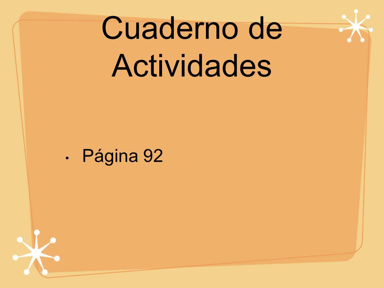 Cuaderno de Actividades Página 92