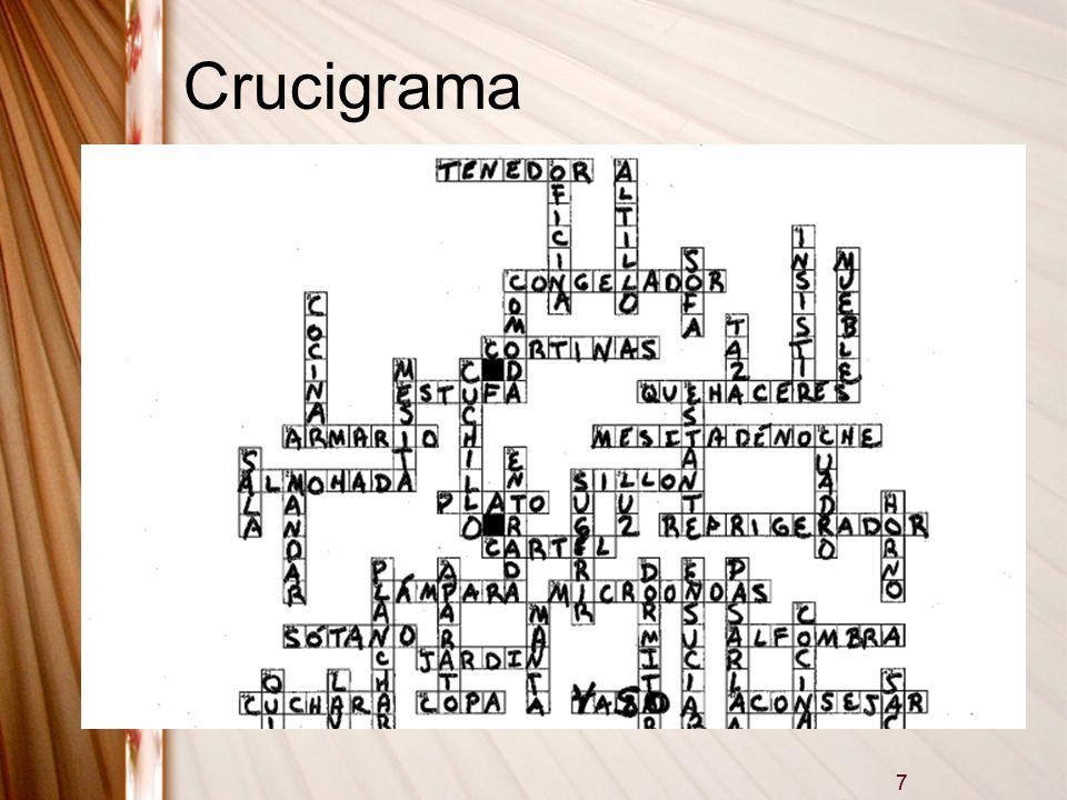 7 Crucigrama 7